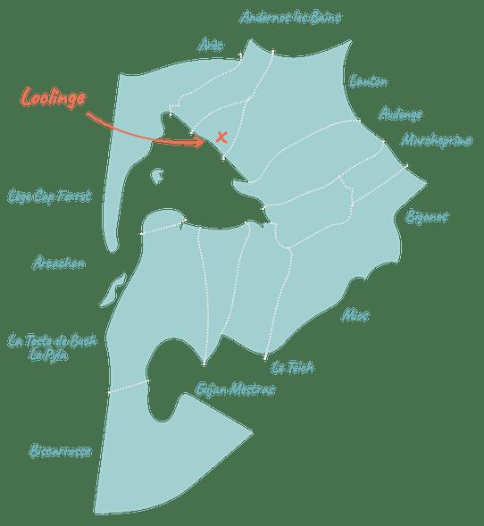 Location de linge sur le Bassin d'Arcachon